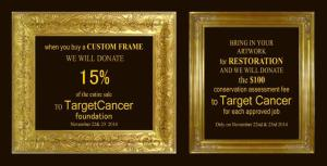 Best picture framing in Boston raising money for cancer research